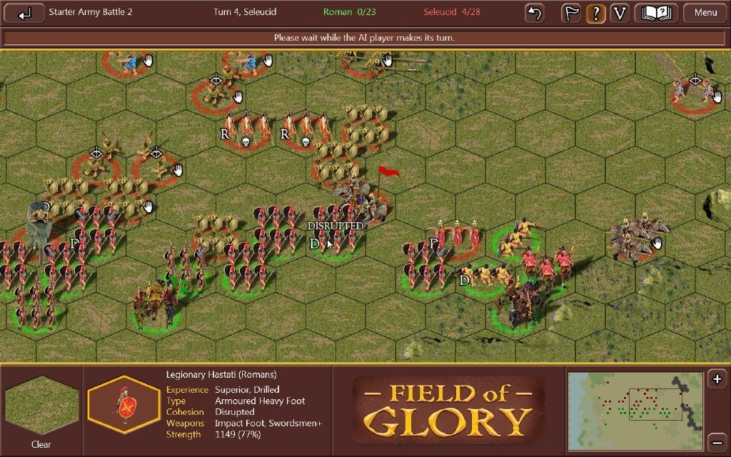 Field of Glory II : le retour de l'antique (Point Vidéoludique)